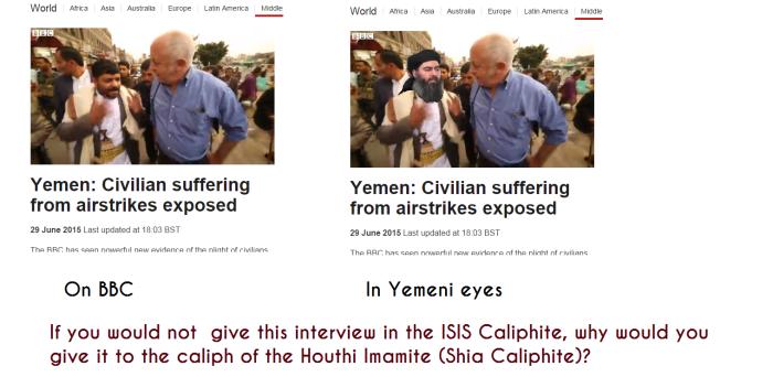BBC Houthi love