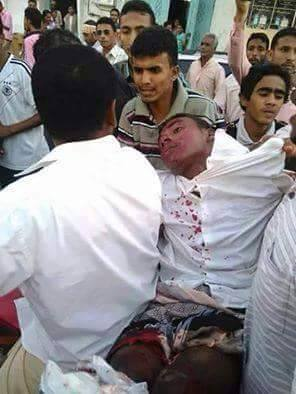 Houthi killed hodeidah student Feb 06 2015