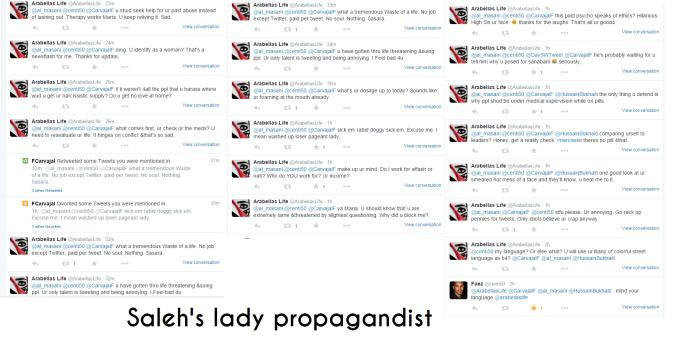 saleh propagandist
