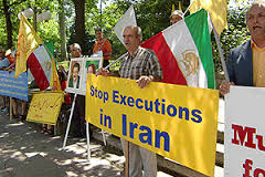 stop exeuctions in iran