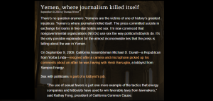 where journalism killed itself